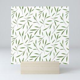 Bamboo Leaves Mini Art Print