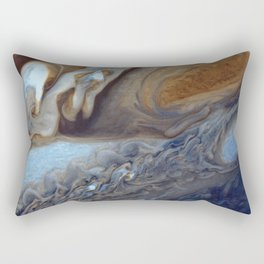 Jupiter's Red Spot Rectangular Pillow