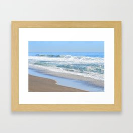 Baby Blue Ocean Framed Art Print