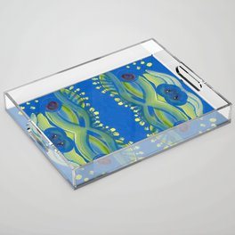 Transitions - Waves of Temporary Tranquility Acrylic Tray