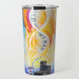Keys of Identity Travel Mug