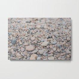 Rocks in Gloucester Metal Print