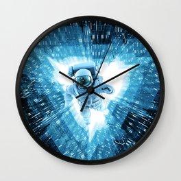 Quantum Cradle Wall Clock
