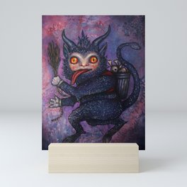 Holiday Krampus Mini Art Print