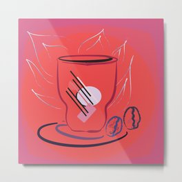 coffee modern Metal Print