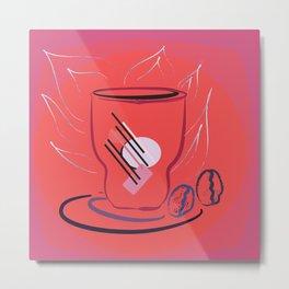 coffee modern Metal Print
