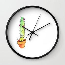 Hey Cactus! Wall Clock