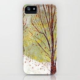 Spring Snow in Dewdrop Holler iPhone Case