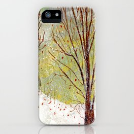 Spring Snow in Dewdrop Holler iPhone Case