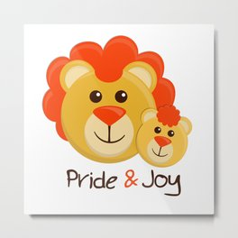 Pride and Joy Metal Print