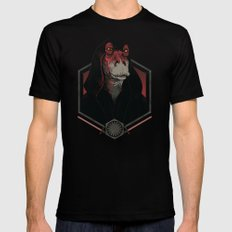 Darth Darth Binks Black LARGE Mens Fitted Tee