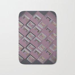 3D Cubes Bath Mat
