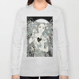 Tangled Up in Life (A Portrait of Nature) Long Sleeve T-shirt