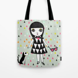 She loves her eames.  Tote Bag