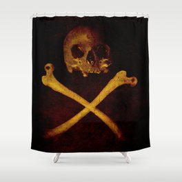 Pirate Skull Shower Curtain
