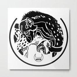 Hyaenidae I Metal Print