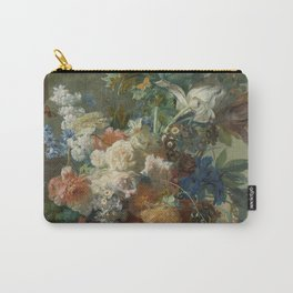 Jan van Huysum - Still life with flowers (1723) Carry-All Pouch