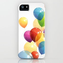 Colorful Balloons iPhone Case