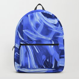 Floating In A Sea Of Blue Backpack