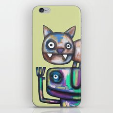 Juggler with Cat iPhone & iPod Skin