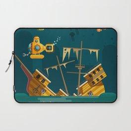 Looking for underwater treasure Laptop Sleeve