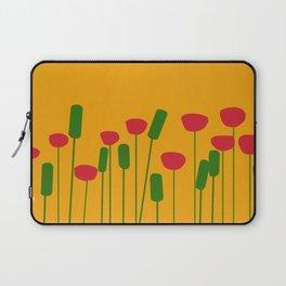 Poppies in orange Laptop Sleeve