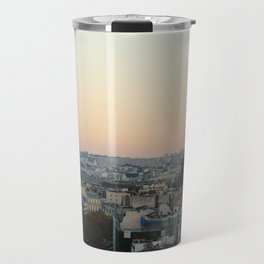 View from L'Arc de Triomphe Travel Mug