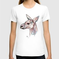 kangaroo T-shirts featuring Kangaroo by Ursula Rodgers