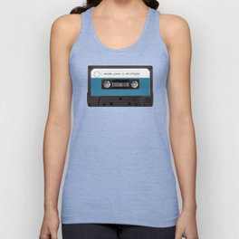 I made you a mixtape | Mix Tape Graphic Design Unisex Tank Top