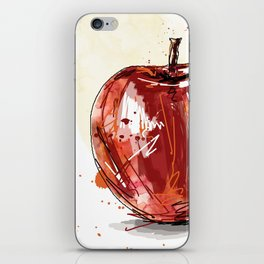 3 apples iPhone Skin