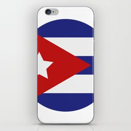 Cuba flag iPhone Skin