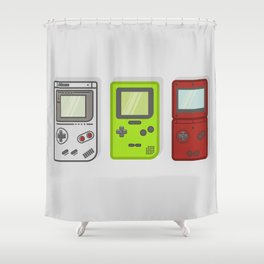Gameboys Shower Curtain