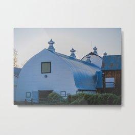 Creamers Dairy and Barn, Fairbanks Alaska Metal Print