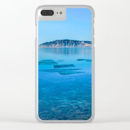 The Angara river Clear iPhone Case
