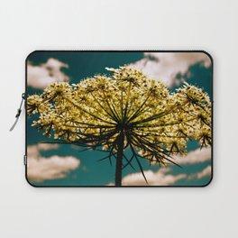 Under a Flower Sky Laptop Sleeve