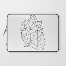 Origami Heart Laptop Sleeve
