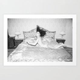 Cama Art Print