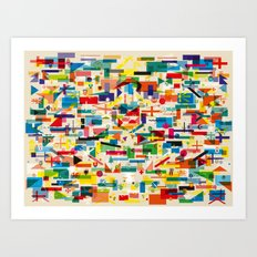 Olympic Village Art Print