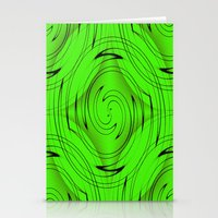 lime green Stationery Cards featuring Lime Green by Sartoris ART