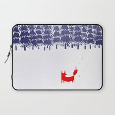 Alone in the forest Laptop Sleeve