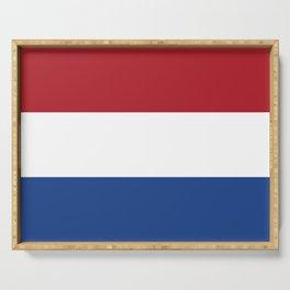 Netherlands Flag Dutch Patriotic Serving Tray
