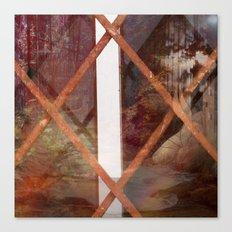 THROUGH BASEMENT WINDOWS Canvas Print
