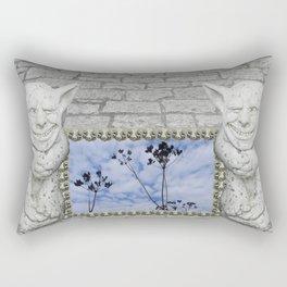 Two Gargoyles  Rectangular Pillow