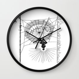 Peter's Web Wall Clock