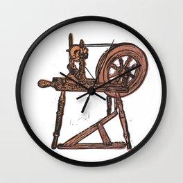 The Spinning Wheel Wall Clock