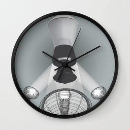 Light Illustration Wall Clock