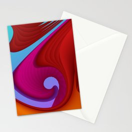 fluid -13- Stationery Cards
