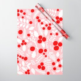 Abstract Holly no.01 Wrapping Paper