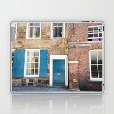 Teal Doors Laptop & iPad Skin