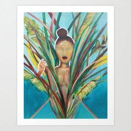 'LOST QUEEN' Art Print